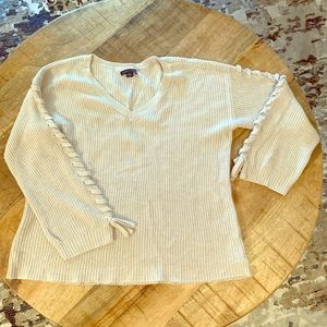 AE oversized cable knit sweater